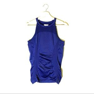 Athleta   Tank Top Athletic Navy Blue Size Medium